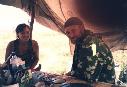 Владимир Назаров и его супруга- Татьяна